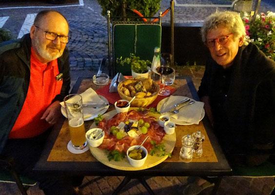 Das verdiente Südtiroler Abendessen