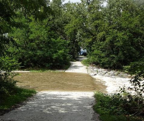 Der Radweg....