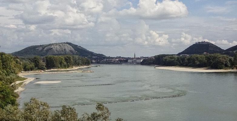 Braunsbeg, Hainburg und die Donau