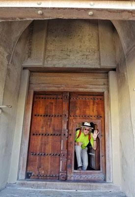Eingang für ungebetene Gäste