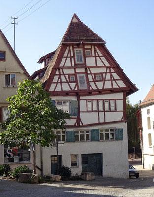 Schiefe Haus von Ehingen