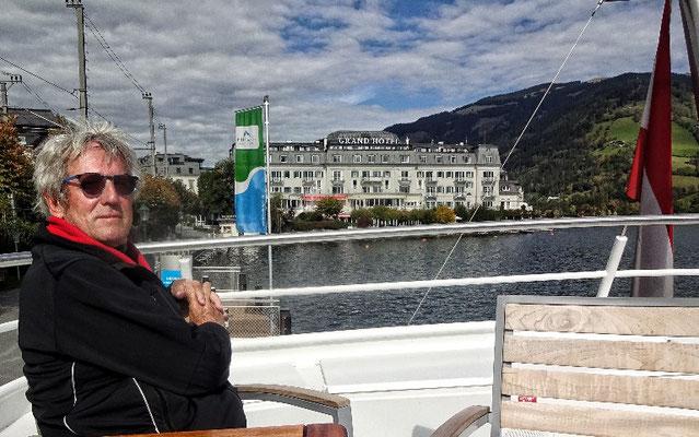 Grand Hotel vom Schiff aus