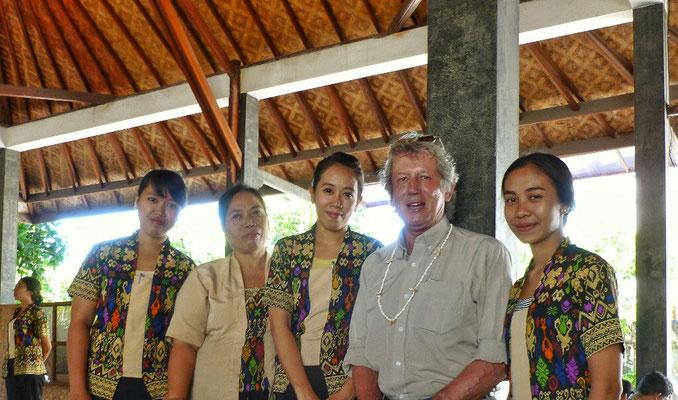 Mit den Batik Mädels