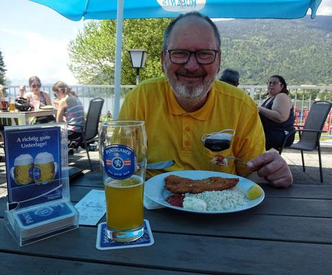 Endlich Schnitzel in Ossiach