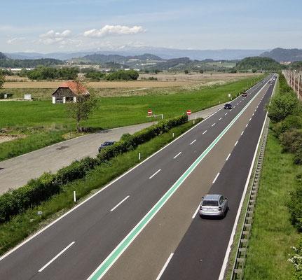 wenig Verkehr auf der S37
