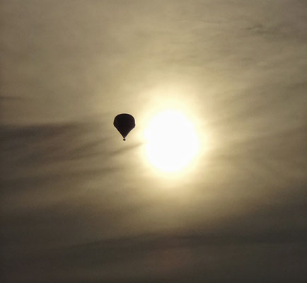 Ballon über Linz
