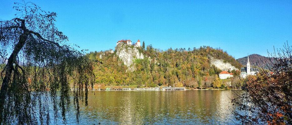 Bled See mit Burg