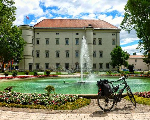 Café im Schloss Porcia leider geschlossen!