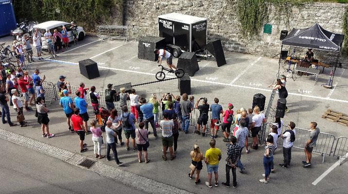 Trial Bike Vorführung