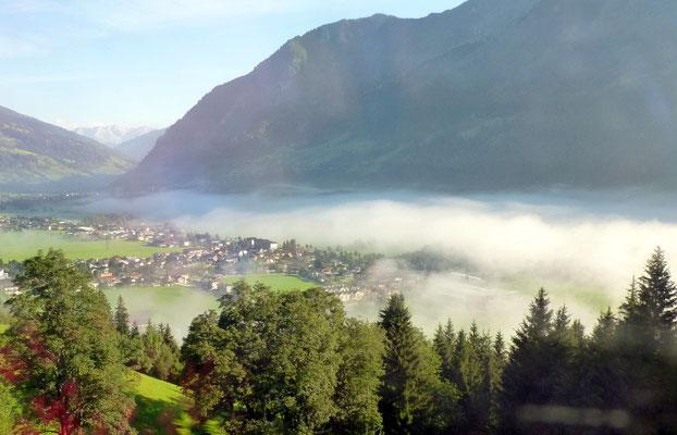 Nebel im Gasteinertal