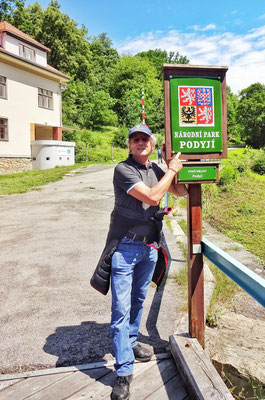 An der Tschechischen Grenze