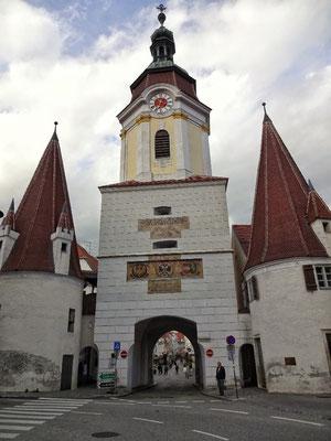 Franz und das Stadtor zu Krems