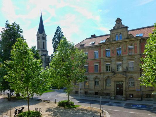 Konstanz vom Hotelfenster