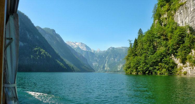 Blick ans Ende des Sees