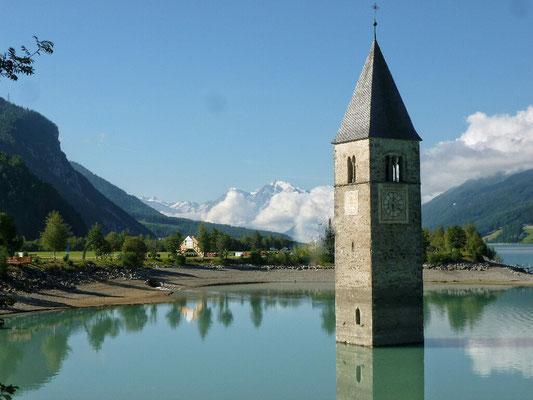 Der berühmte Kirchturm