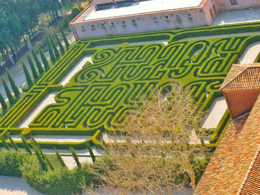 in den Klostergarten