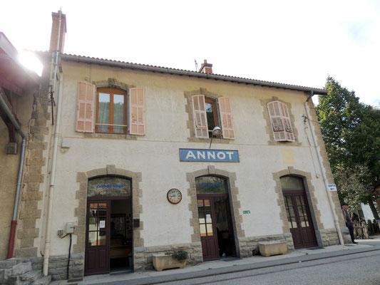 Bahnhof von Annot