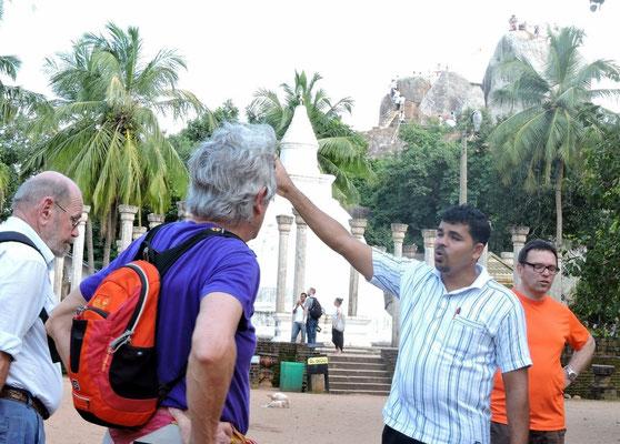unser Reiseleiter Anura