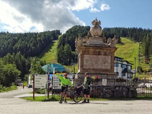Semmering Denkmal und Hirschenkogel