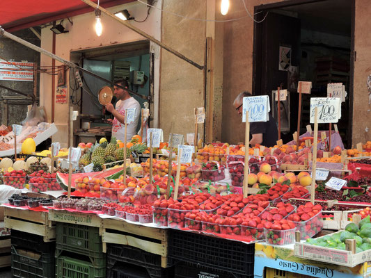 am Markt von Palermo