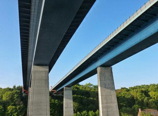 Autobahn Brücke Rade