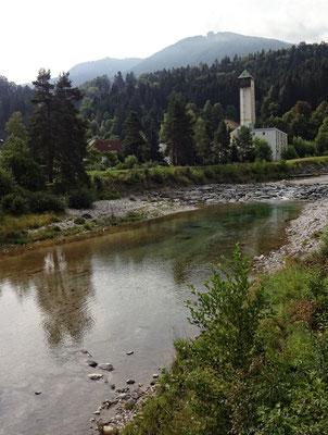 das alte Bergwerk in Arnoldstein