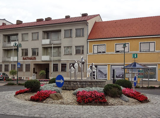 Hauptplatz von Jennersdorf