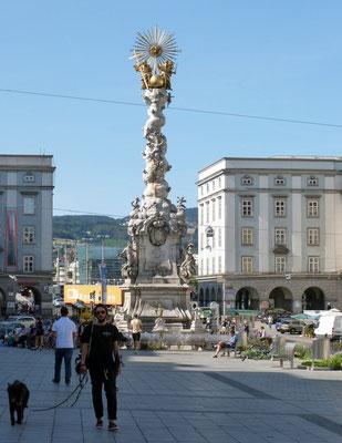 am Hauptplatz in Linz