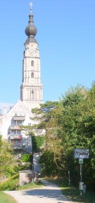 Einfahrt Braunau