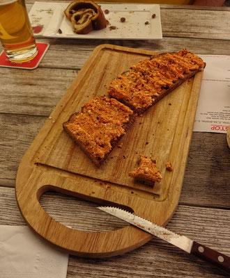 Kleine Brote im Radlerstopp