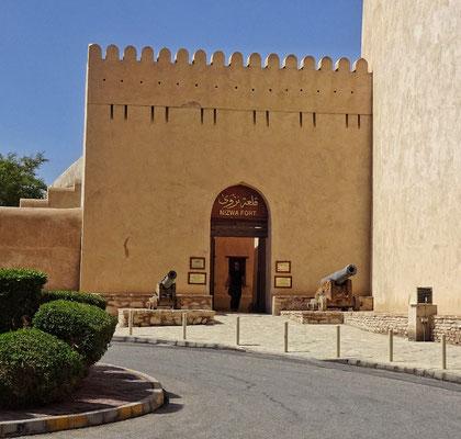 Eingang Nizwa Fort