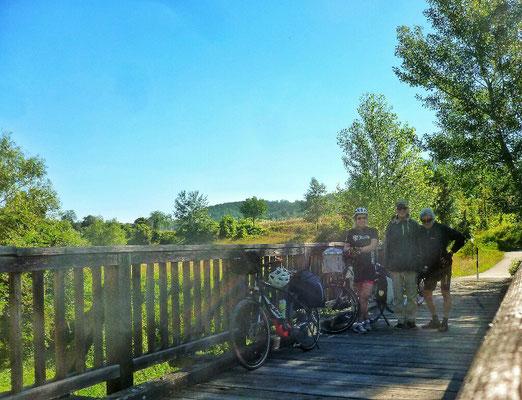 Die 1. Kamp Brücke