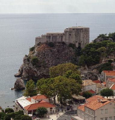 Die Festung Lovrjenac