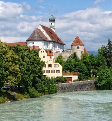 Kirche st. Stefan an der Lech in Füssen