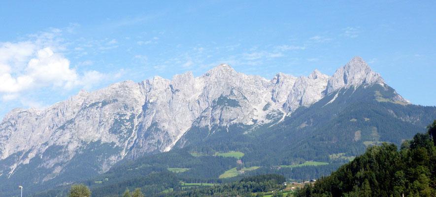 Salzburgs Berge bei herrlichem Wetter