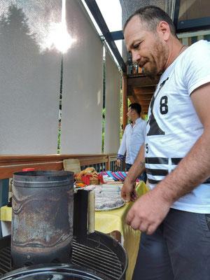 Saeed der Grillmeister