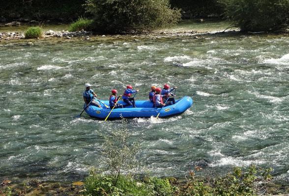 Rafting auf der Brenta