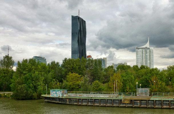 DC Tower, das höchste Gebäude Wiens.