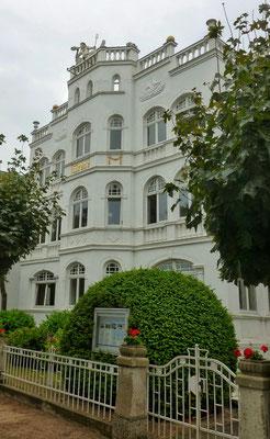 Alte Villen schön restauriert
