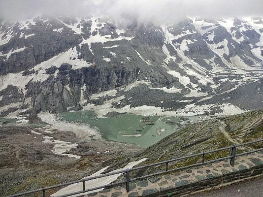 Trauriger Pasterzen Gletscher
