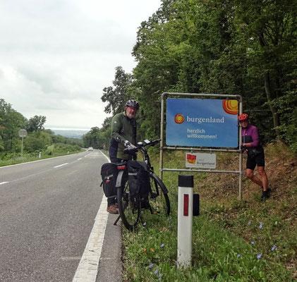 An der Grenze ins Burgenland, ohne Kontrollen 😉