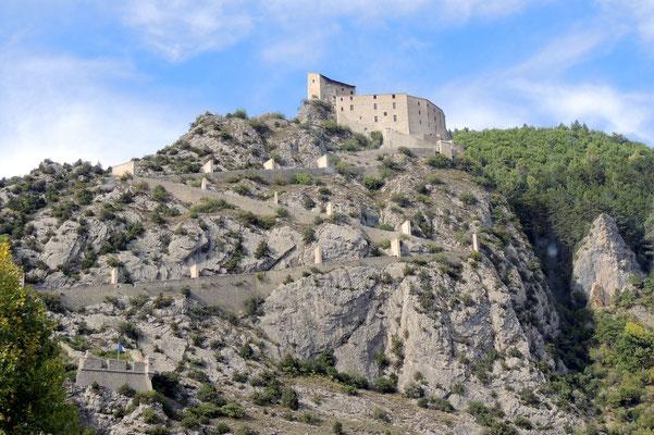Die Zitadelle von Entrevaux