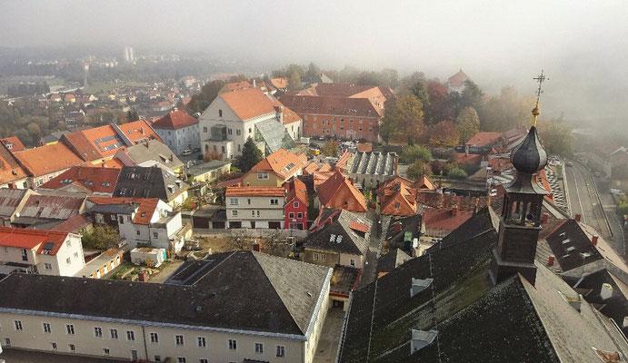 Blick vom Sternenturm Judenburg