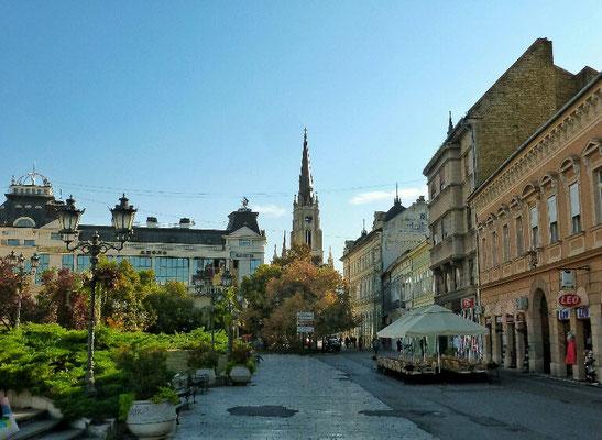 Fussgängerzone von Novi Sad