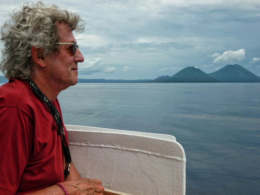 Einfahrt nach Rabaul