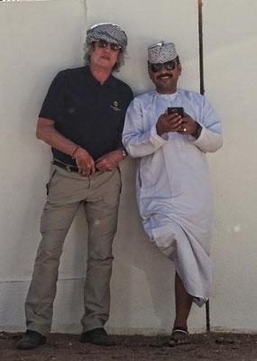 Mit unseren Driver Faisal