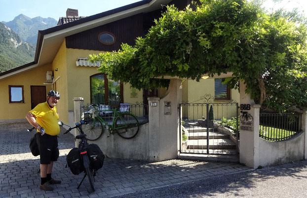 Unser Quartier Bed & Breakfast Jasmina in Venzone