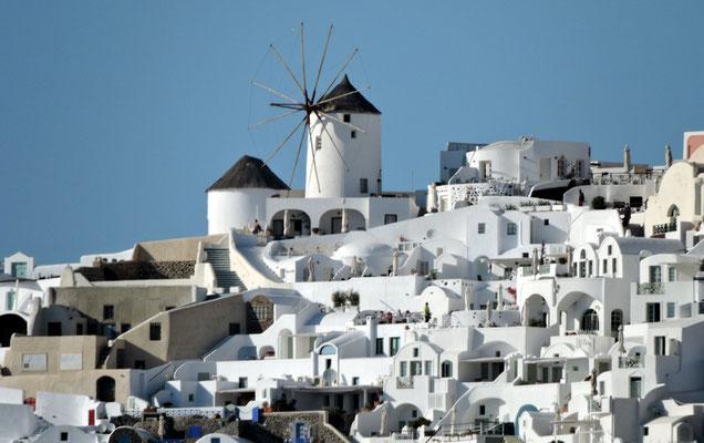 und Windmühlen zur Dekoration