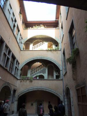 alter Innenhof
