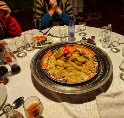 Essen bei der Berber Show